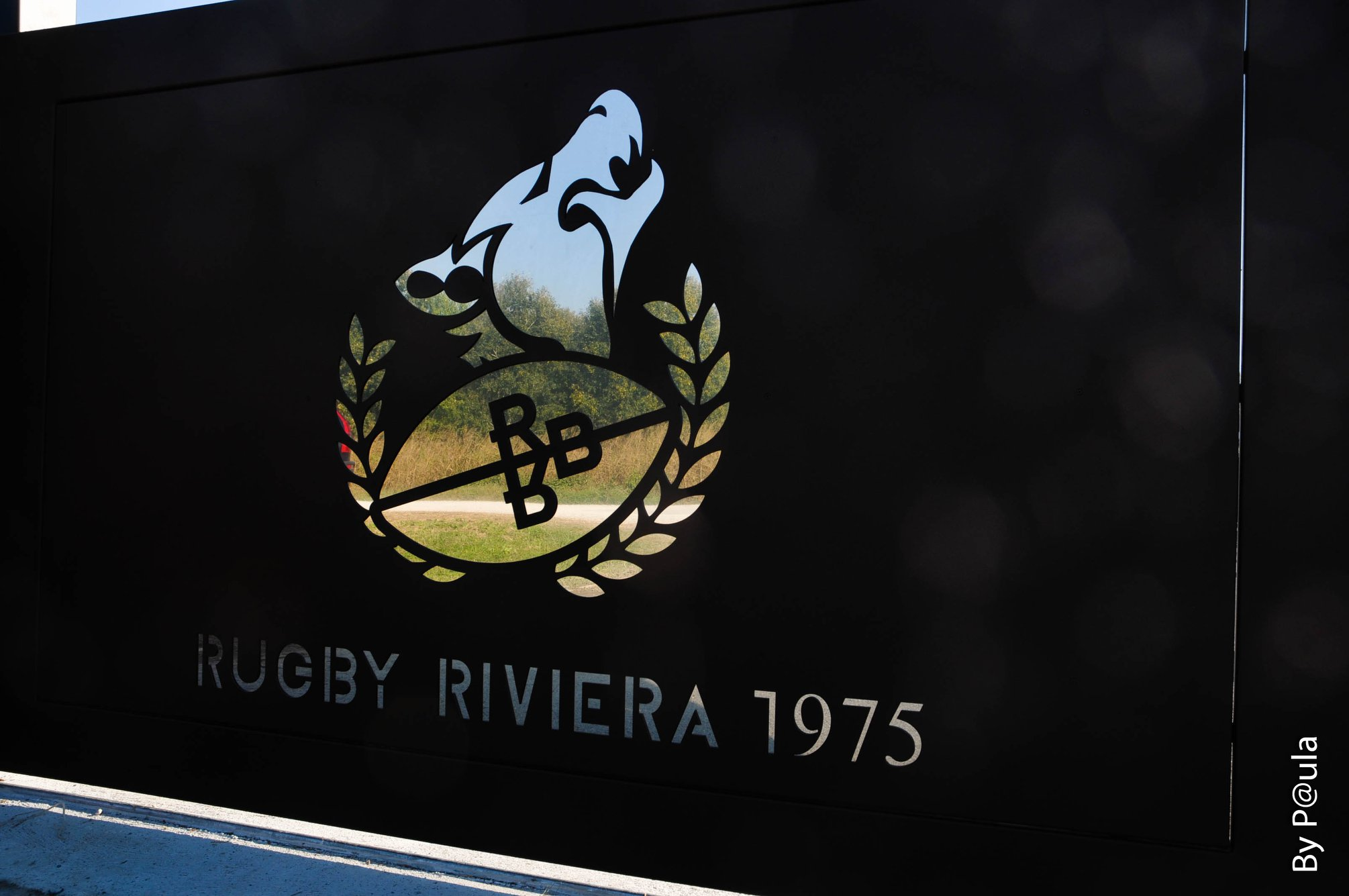 Rugby Riviera 1975 - cancello club house